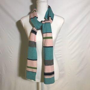 J Crew multicolor scarf